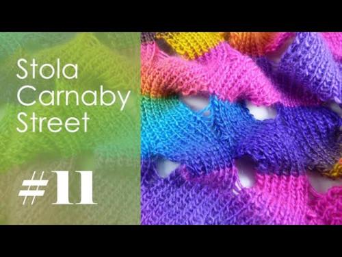 Stricken mit eliZZZa * Stola Carnaby Street * Video 11