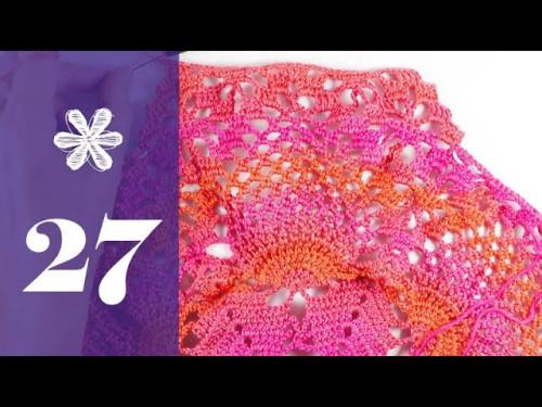 AdventsCAL 2018 mit eliZZZa * Häkeldeckchen Doily * Reihe 27
