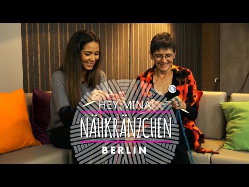 Nähkränzchen mit Hey Mina * Das handgestrickte Interview mit eliZZZa