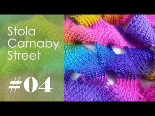 Stricken mit eliZZZa * Stola Carnaby Street * Video 04