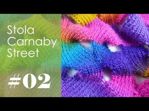 Stricken mit eliZZZa * Stola Carnaby Street * Video 02