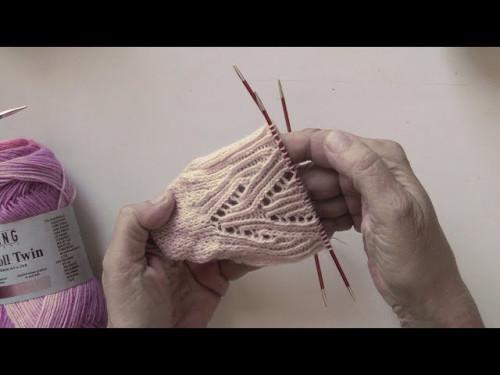 Stricken mit eliZZZa * Socken Nereiden in der JAWOLL Twin