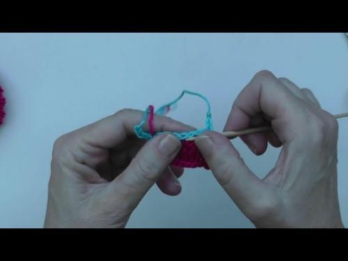 Stricken mit eliZZZa * Provisorischer Maschenanschlag auf Luftmaschenkette