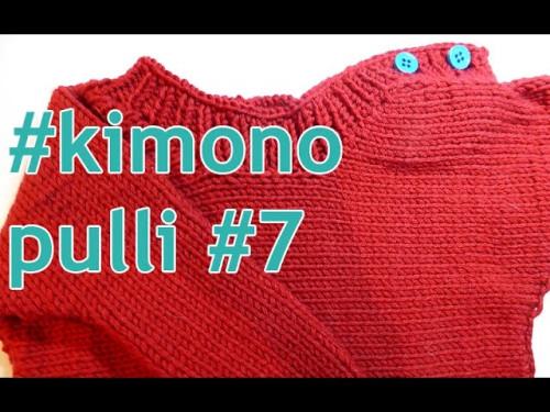 Stricken mit eliZZZa * Kimono-Pulli Teil 7