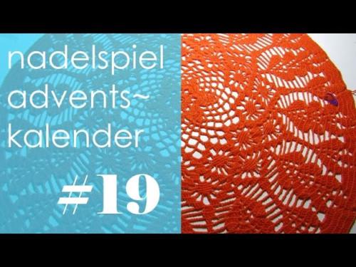 nadelspiel Adventskalender * Dezember 19 * Runde 38