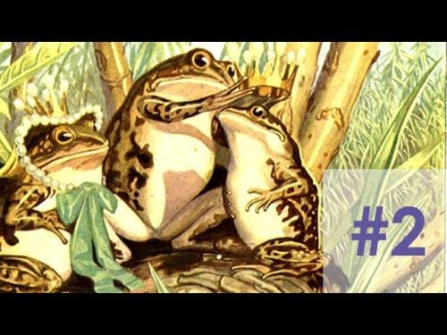 nadelspiel Adventskalender 2014 * 4. Dezember * Der Frosch mit dem Edelstein im Kopf * Teil 2
