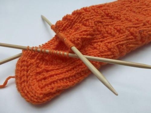 nadelspiel Sockenkalender April * Socken
