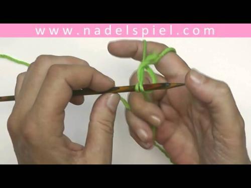 Stricken mit eliZZZa * Maschenanschlag für Linkshänder * Test
