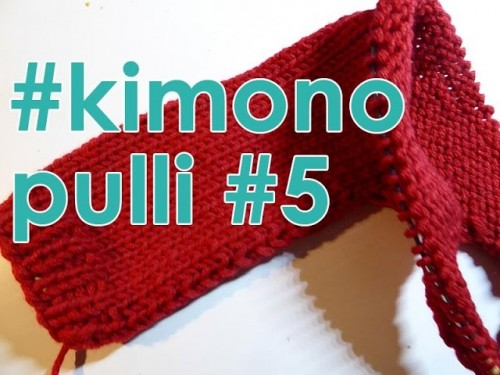 Stricken mit eliZZZa * Kimono-Pulli Teil 5
