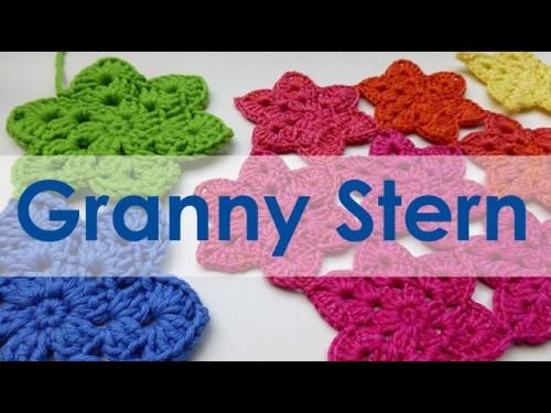 nadelspiel Adventskalender 2014 * 10. Dezember * Granny Stern häkeln