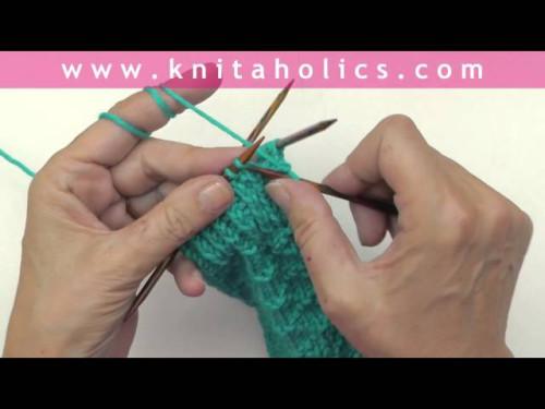 Socken stricken * Super Easy Socken von der Spitze * Teil 4 * Das Bündchen