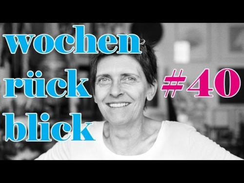 eliZZZa nadelspiel Wochenrückblick #40 * Neues aus der Arche