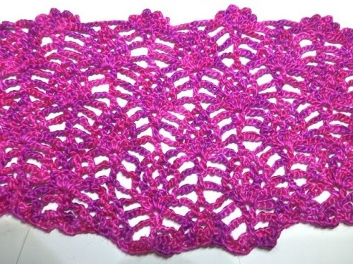 Crochet with eliZZZa * Baby Pineapple Stitch