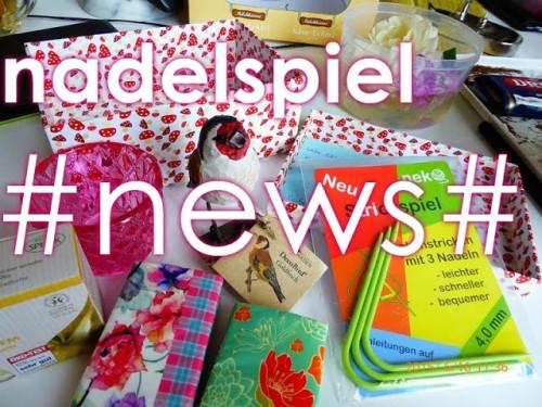 nadelspiel News * Von Socken, eckigen Nadeln & Freudensprüngen