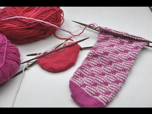 nadelspiel Sockenkalender August * Socken