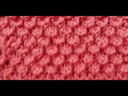 Knit with eliZZZa * Bobble Brioche * Knitting Stitch * Brioche Stitch